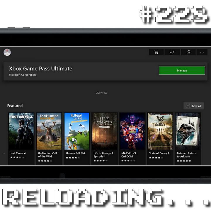 Reloading #228 – Game Pass para Todos