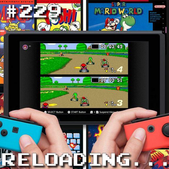 Reloading #229 – O Super Nintendo Chegou!!!